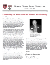 2001 NHS newsletter