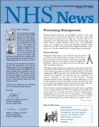2004 NHS newsletter